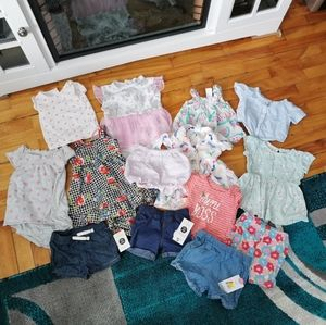 🌺Bundle of baby girl clothes!